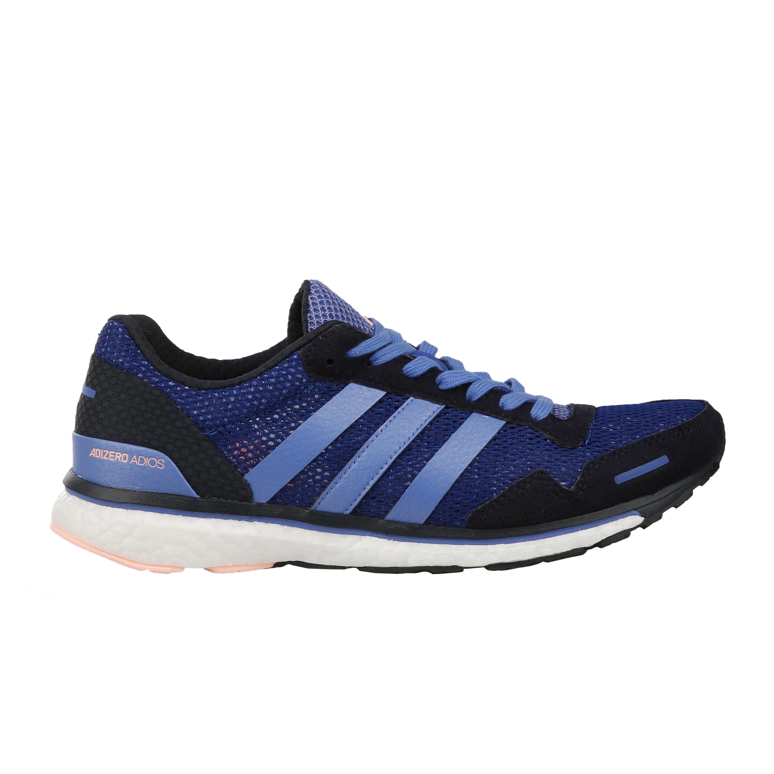 Adidas Damen Adizero 3 Dunkelblau Laufschuhe Adios