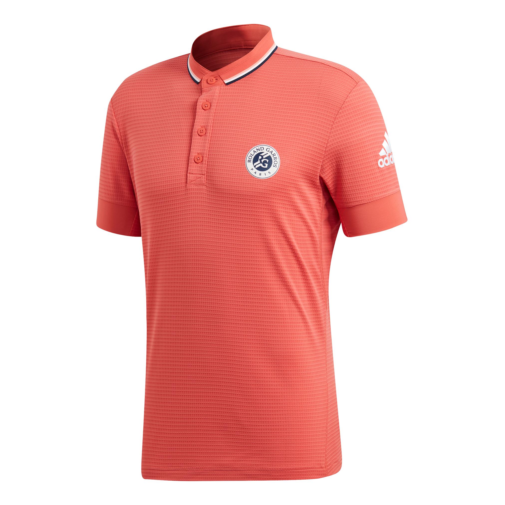 pretty nice c13c8 a2c0f adidas Herren Roland Garros Climachill Polo Polo hellrot NEU ...