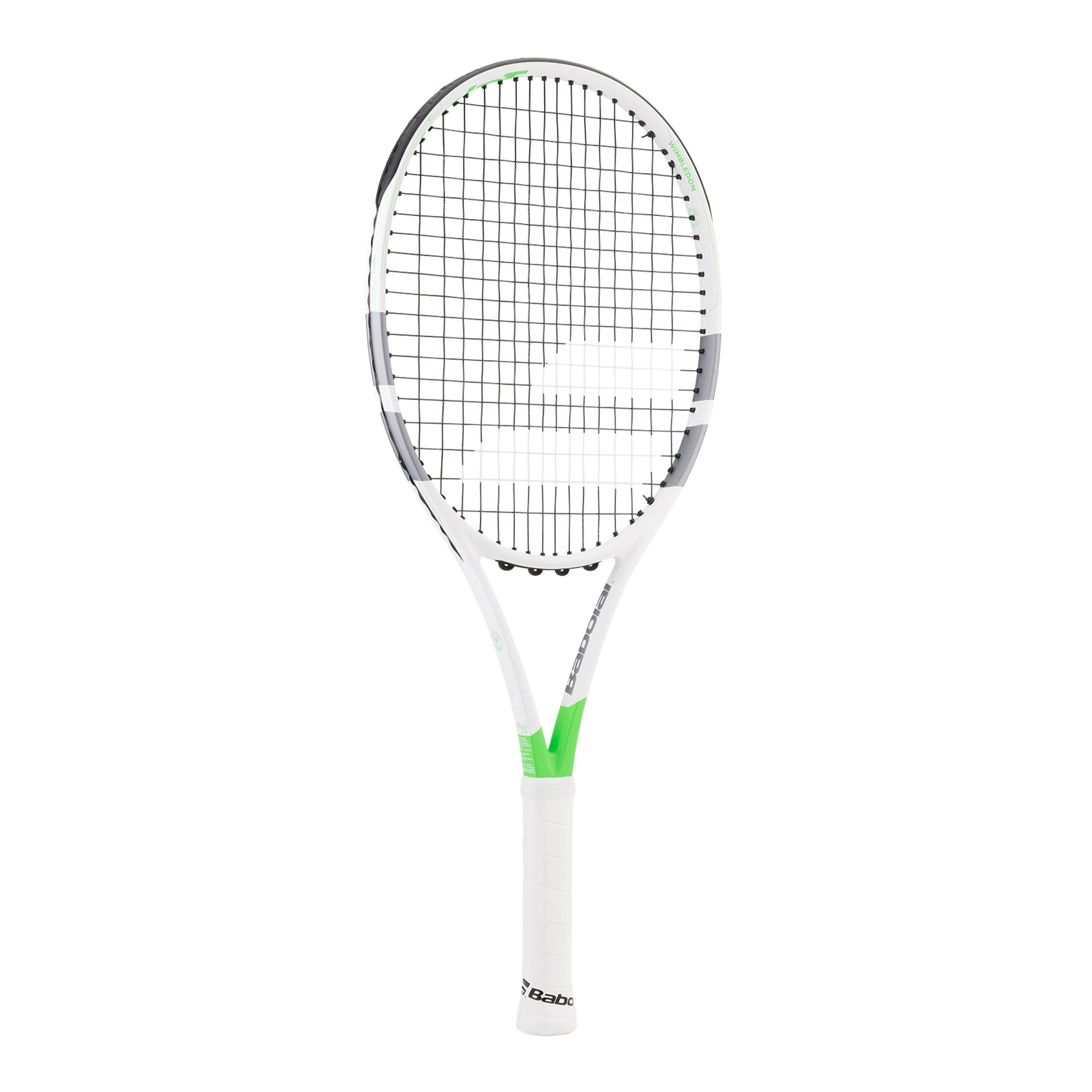 Babolat Pure Strike Junior 26 besaitet 250g Tennisschläger white-green 0 NEU